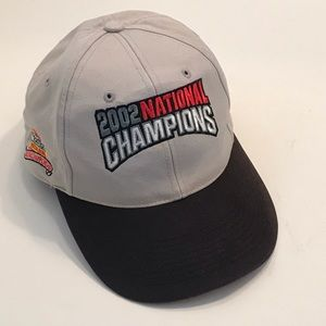 Ohio State 2002 Fiesta Bowl National Champions Hat